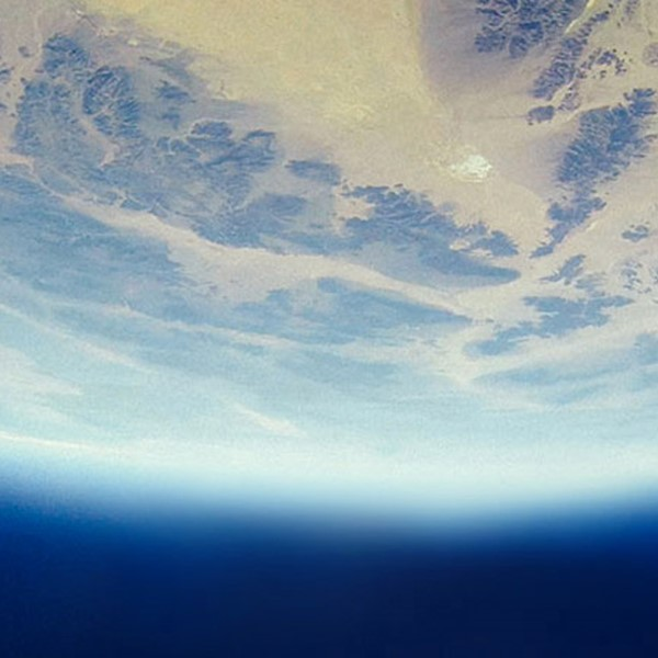 Earth as viewed from space