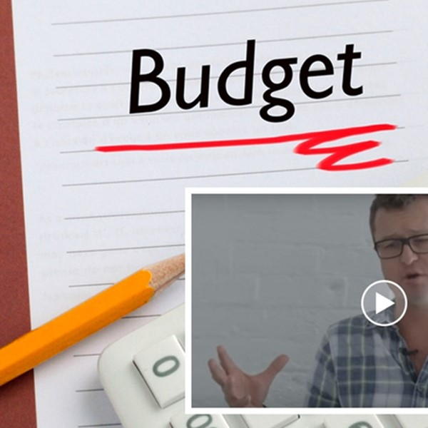 Budget on desk, JB video