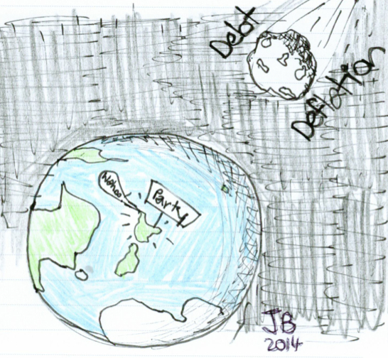 World party doodle by yours truly, JB