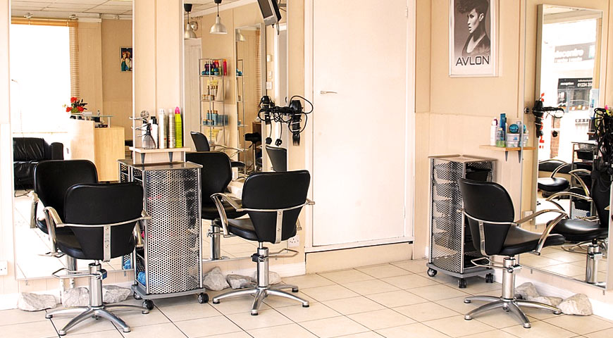 Barber, shop interior