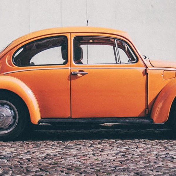 Orange Volkswagen