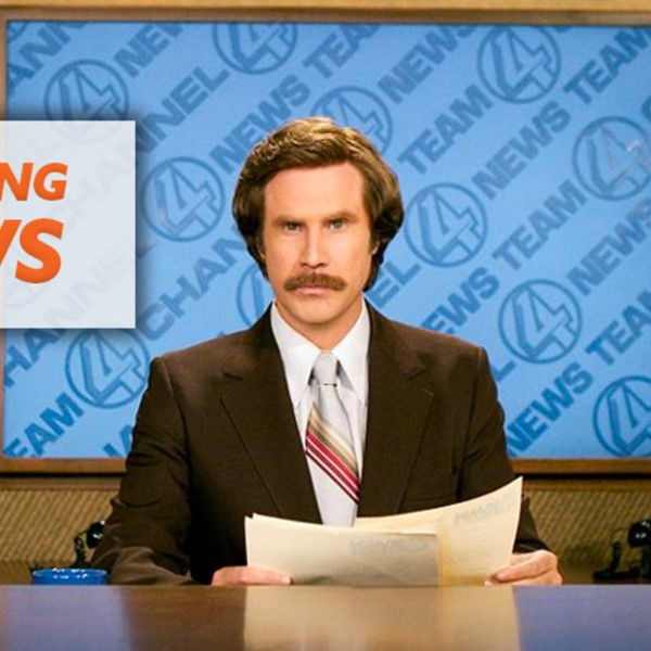 Ron Burgundy - breaking news about the OCR