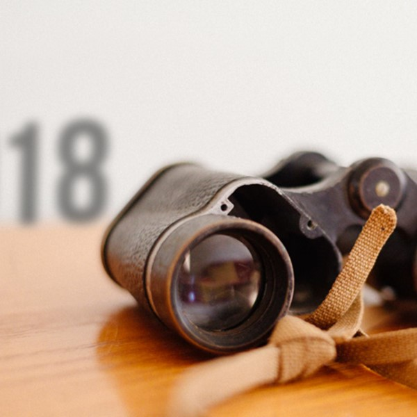Binoculars looking back at 2018 so far
