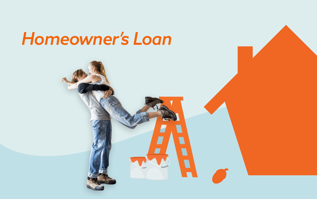 The Squirrel Homeowner's Loan - the easiest way to borrow without talking to the bank